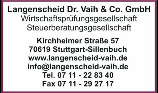 Langenscheid Dr. Vaih & Co. GmbH
