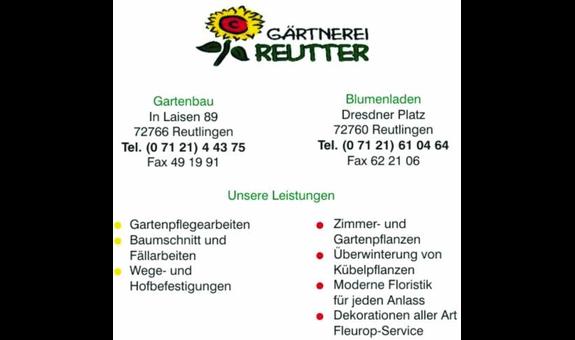 Logo von Reutter Gartenbau