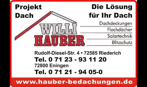 Bedachungen Willi Hauber