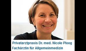 Ploog Nicole Dr.med. Privatarztpraxis Fachärztin für Allgemeinmedizin