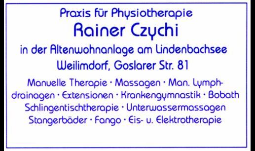 Czychi Rainer