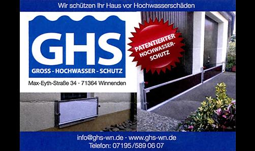 GHS Gross-Hochwasser-Schutz