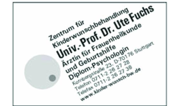 Dr.med. Ute Fuchs Univ.-Prof. Zentrum für Reproduktionsmedizin