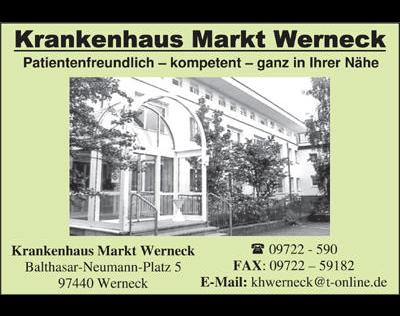 Kundenbild klein 2 Krankenhaus Markt Werneck