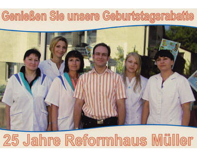 Kundenbild groß 1 Reformhaus Müller
