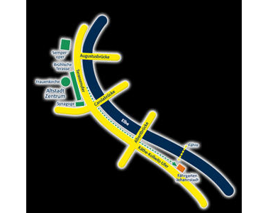 Kundenbild klein 2 Elberadweg Fährgarten Johannstadt