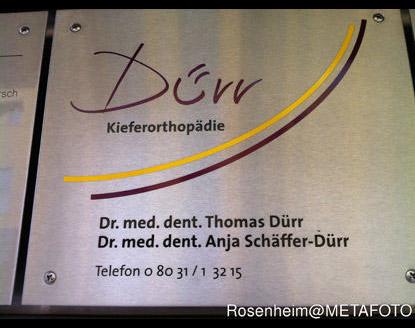 Kundenbild groß 1 Dürr Thomas Dr., Schäffer Dürr Anja Dr. Kieferorthopäden
