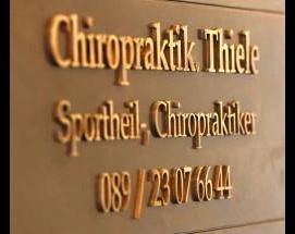 Kundenbild groß 1 Dr.scient. med. Thiele, Fachpraxis f. amerik. Chiropraktik & Osteopathie München