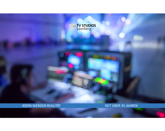 Kundenbild klein 6 TV Studios Leonberg GmbH Audiovisuelle Medienproduktion