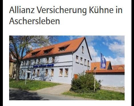 Kundenbild klein 3 Kühne Lutz Allianz Generalvertretung
