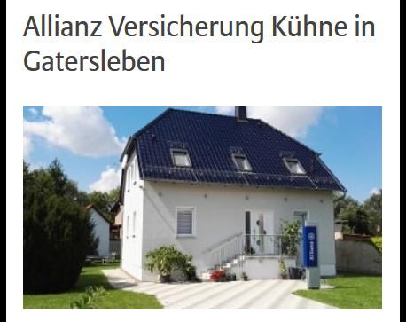 Kundenbild klein 4 Kühne Lutz Allianz Generalvertretung