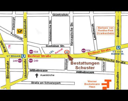 Kundenbild klein 8 Bestattungen Schuster Berlin GmbH