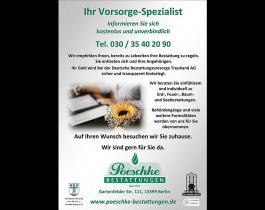 Kundenbild klein 12 Poeschke Bestattungen - Filiale Alt-Reinickendorf