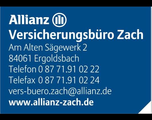 Kundenbild groß 1 Allianz Versicherungsbüro Zach