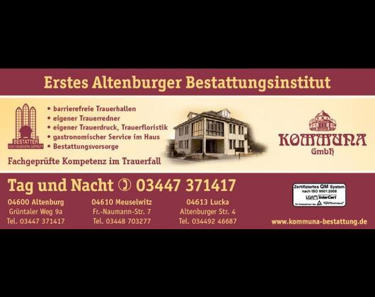 Kundenbild klein 1 Bestattung Kommuna GmbH