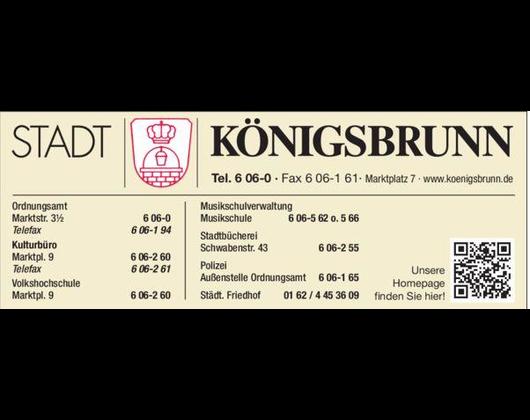 Kundenbild klein 1 Stadtverwaltung Königsbrunn