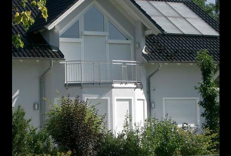 Fenster Braun Weiding