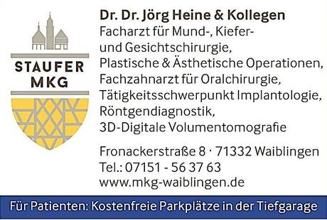 Kundenbild klein 2 Heine Jörg Dr.Dr.med. & Kollegen, STAUFER MKG