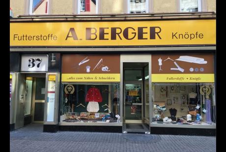 Kundenbild klein 2 A. BERGER OHG Alles zum Nähen und Schneidern