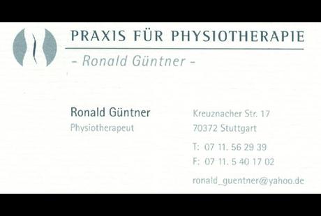 Kundenbild klein 1 Güntner Ronald Praxis für Physiotherapie