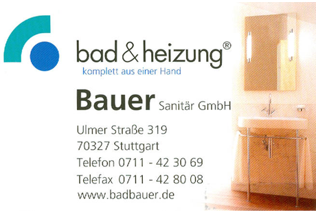 Kundenbild klein 1 Bauer Sanitär GmbH