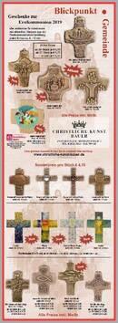 Kommunionkreuze aus Bronze und Holz