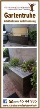 Gartentruhe für die Terrasse