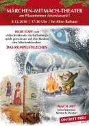 """""""MÄRCHEN-MITMACH-THEATER"""" / 8.12.18 / 17:30 Uhr"""
