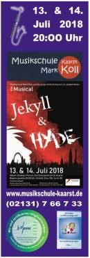 Jekyll & Hyde - das Musical mit der Jungen Sinfonie Kaarst