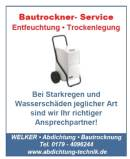 Bautrockner - Service