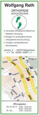 Orthopädische Schuhe nach Maß in Heiligenhaus seit 1984