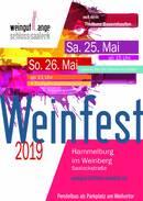 Weinfest im Weinberg 25./ 26.05.19