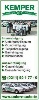 seit 1927 - 90 JAHRE KEMPER - Glas- u. Gebäudereinigung
