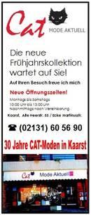 30 Jahre CAT-Moden in Kaarst