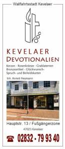 Devotionalien der Wallfahrtsstadt Kevelaer