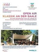"""Open Air der Hofer Symphoniker """"Klassik an der Saale"""""""