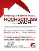 """Einladung zur Knowhow-Schau """"Wohn(t)raum unterm Dach"""""""