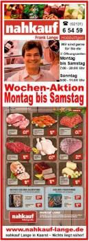 NAHKAUF Lange Holzbüttgen Wochen-Aktion MONTAG-SAMSTAG