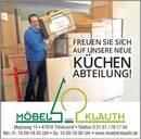 Demnächst bei Möbel Klauth - neue Küchenausstellung