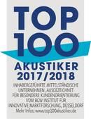 Hörgeräte Kraus ist Top Akustiker 2017