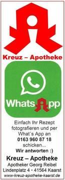 Mit What´s App - unser neuer Service für Sie