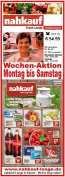 NAHKAUF Holzbüttgen Wochen-Aktion