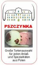 Große Tortenauswahl und Spezialitäten aus Polen